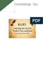 Bases - Concurso de Cuentos Nuestro Pisco espirituoso