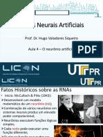Aula 4 - O neuronio artificial