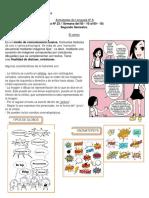 Guía de lenguaje 6° A (N° 23)
