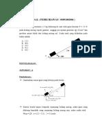 Soal Mekanika Teknik Febri Irawan 05091002006