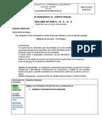 Ficha consolidada Regular Octavos EGB N10-4 PARCIAL