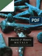 Scott, D. Et Al. (Ed.). Ancient & Historic Metals. 1994