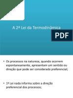 A 2ª Lei Da Termodinâmica