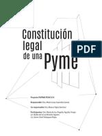 Constitucion Legal de Una PYME