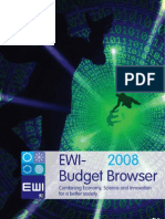 EWI Budget Browser 2008
