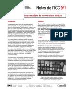 VVAA. Comment Reconnaitre La Corrosion Active. ICC. 2007