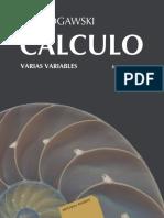 Cálculo de Varias Variables-Rogawski