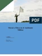 Moral y Etica en el Ambiente Militar