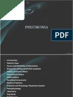 Pnemonia powerpoint