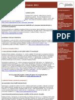 e-newsletter nadácie pontis február/marec 2011