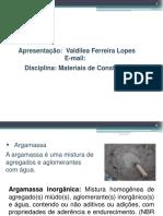 AULA  ARGAMASSA - VALDILEA LOPES (1)