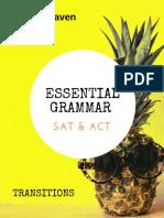 PrepMaven Grammar Essentials - Transitions