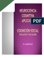 Clase Cognicion Social PDF