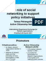 What is Active citizenship Network
