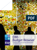 EWI Budget Browser 2007