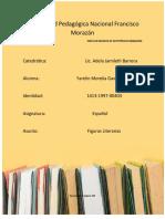 español figuras literarias