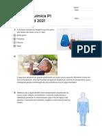 Quiz_Revisão Bioquímica P1 FarmaBiomed 2021