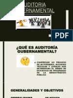 PRESENTACION AUDITORIA GUBERNAMENTAL