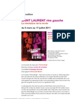 Expo Saint Laurent Rive Gauche