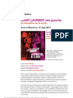 Saint Laurent Rive Gauche exhibition