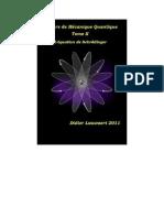 Cours de Mécanique Quantique Tome II