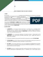 1. CONTRATO DE MANDATO PARA EL RECAUDO DE INGRESOS  Ecommerce 26-01-2021