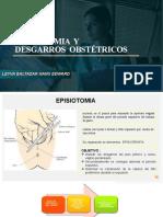 Exposicion de Episiotomia y Desgarros