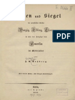 Münzen und Siegel der preußischen Städte Danzig, Elbing, Thorn, so wie der Herzöge von Pomerellen im Mittelalter / von F. A. Voßberg
