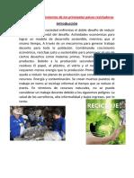 Política y Procedimientos de Los Principales Países Recicladores