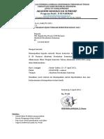 surat edaran UTS