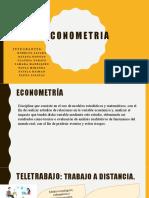 Econometrìa