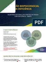 Avaliação Biopsicosocialda Deficiênca Liliane MDH