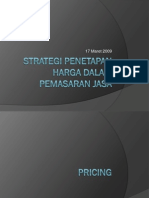 48110534 Strategi Penetapan Harga Dalam Pemasaran Jasa