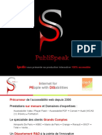 PDF Accessible & Catalogue InteractIf  (PubliSpeak)
