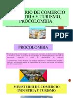 ministerio de comercio industria y turismo, procolombia