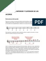 ESTRUCTURA INFERIOR Y SUPERIOR DE UN ACORDE (1)
