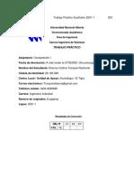 Computación I Trabajo Práctico Sustitutivo 2021 ELIANNY TRANQUINI 28.183.589 El Tigre Anzoategui