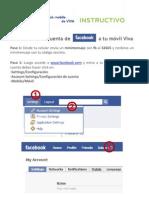 Instructivo Facebook Mobile