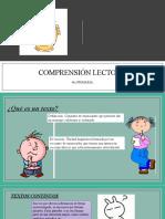 COMPRENSIÓN LECTORA 4to de primaria