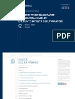 Lo Smart Working Durante l'Emergenza COVID-19 e Il Punto Di Vista Dei Lavoratori v2_sku_4000573