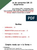 Indications de Correction DM 13 Dissertation PDF (1)
