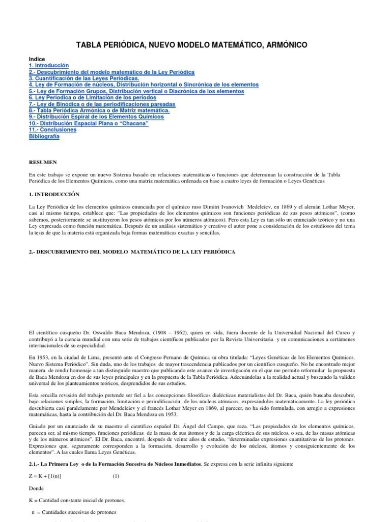 tabla periodica nuevo modelo - Tabla Periodica De Los Elementos Quimicos Universitaria