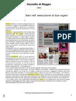 Reggio E. S. Stefano 16 nov 2014 - articolo Gazzetta Reggio 14 nov 2014 - pdf_intero