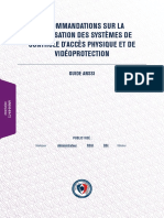 Anssi-guide-recommandations Securisation Systemes Controle Acces Physique Et Videoprotection-V2.0