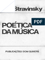 Stravinsky, Poética da Música (1971)