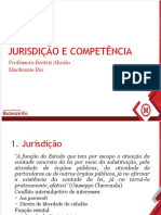 Jurisdição e Competência Parte 1