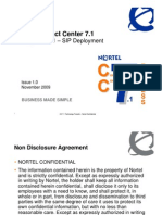 Nortel Contact Centre 7.1