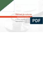 MANUAL DE SUTURAS
