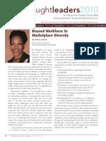 Diversity Journal   Beyond Workforce to Marketplace Diversity - Mar/Apr 2010