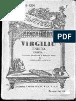 Virgiliu, Eneida I [tr. juxtaliniară si tr. liberă de Profesorii Asociați]